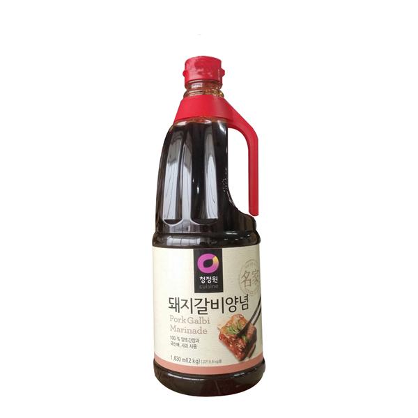 청정원 돼지갈비양념 2kg [무료배송], 1개