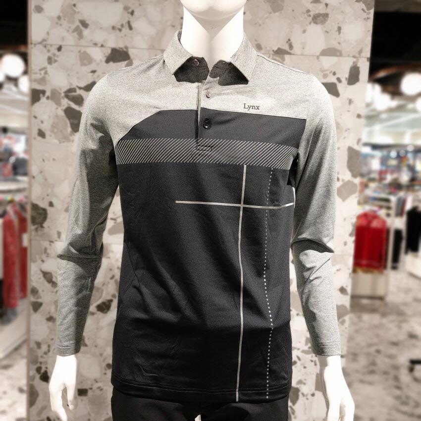 [링스] 골프 가을 남성 폴로형 티셔츠L 1193TO015, MG
