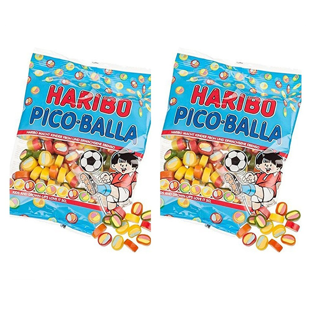 Haribo - Pico-Balla 하리보 피코 발라 175g 2팩, 1개