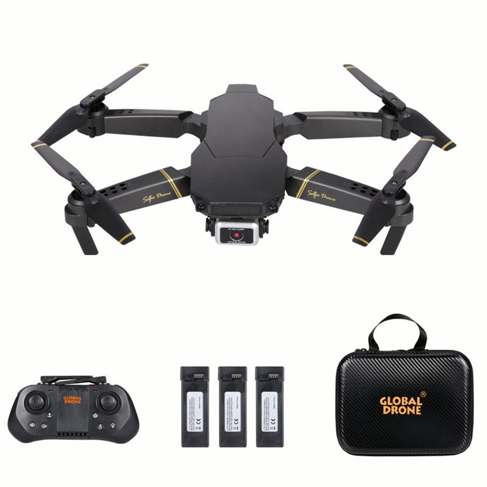 GoolRC GD89 PRO 접이식 쿼드콥 RC 드론, 4K 카메라+배터리 3 개