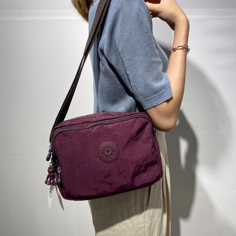 키플링 가방 남녀공용 크로스백 사일런 SILEN(DARK PLUM)KPCB02K7012951E