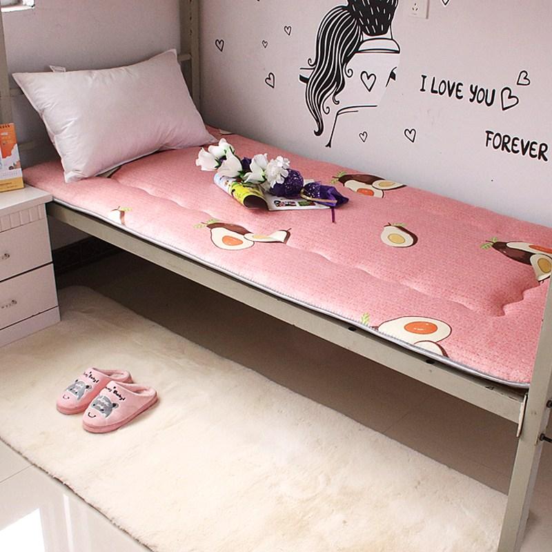 토퍼 템퍼 매트리스 침구 기타 싱글 학생 기숙사 털 퍼 다운 침대 요, AJ_90 x 190