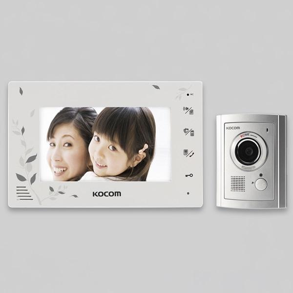 코콤 비디오폰 컬러 LED7인치 /KCV-376N(화이트), 단품