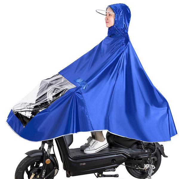 오토바이 자전거 우비 판초 우의 레인 코트 드라이브