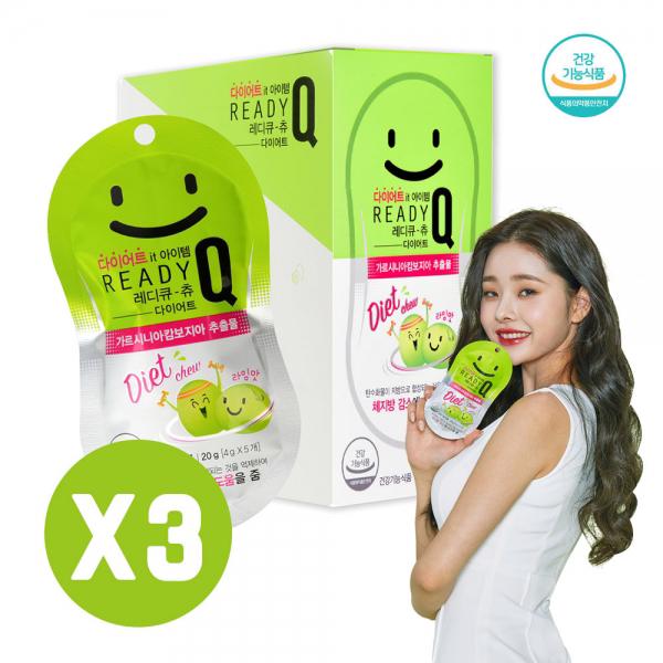라임맛 레디큐-츄 다이어트 젤리 5입X10개(3박스)