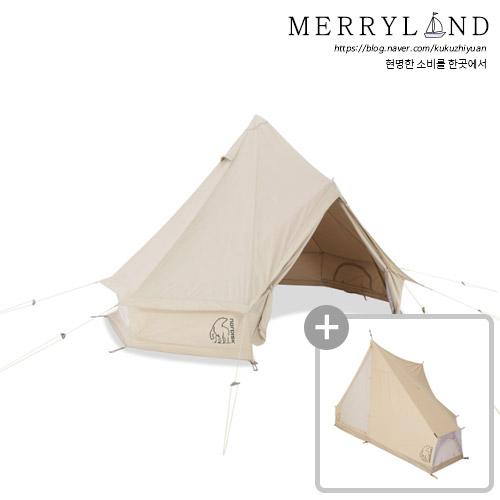 Nordisk 아스가르드 12.6 텐트, 6인용, 텐트+내부 객실
