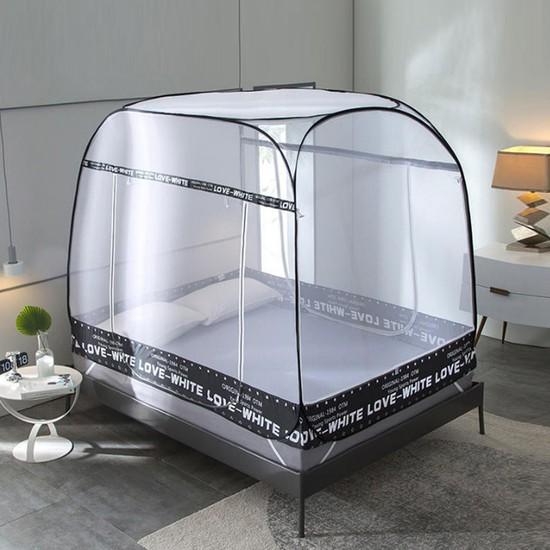 1초완성 원터치모기장/사각/모기장텐트/침대모기장, 구름(베이직)/(싱글/슈퍼싱글)1호 M-OD01