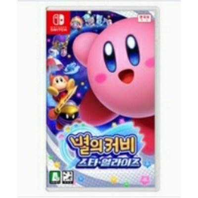 닌텐도 스위치 별의 커비 스타 얼라이즈 한국정발 한글판 중고
