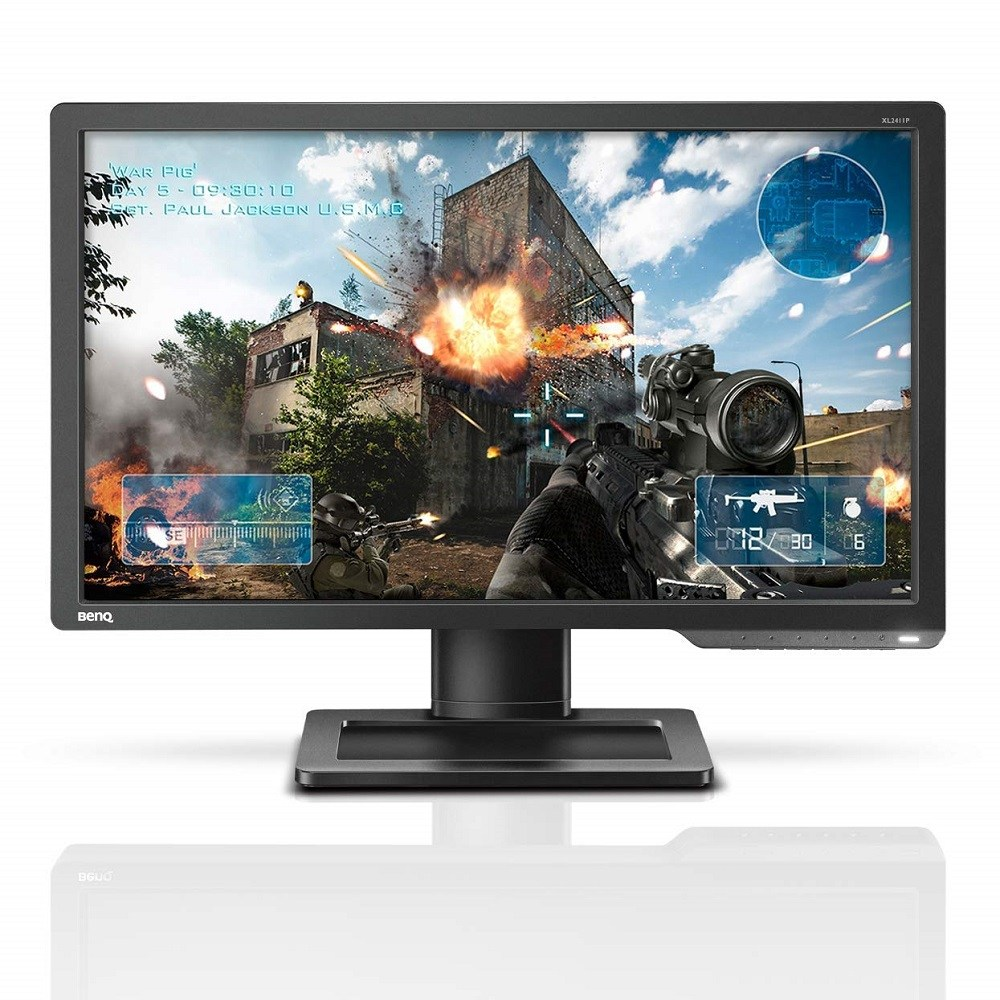 BenQ ZOWIE XL2411P 24 Inch 144Hz FHD Gaming Monitor 1ms Black eQualizer & Color Vibrance for Competitive Edge