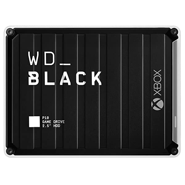 [미국] WD_Black 5TB P10 Game Drive for Xbox One Portable External Hard Drive with 2-Month Xbox Game P, Xbox One w/ Game Pass
