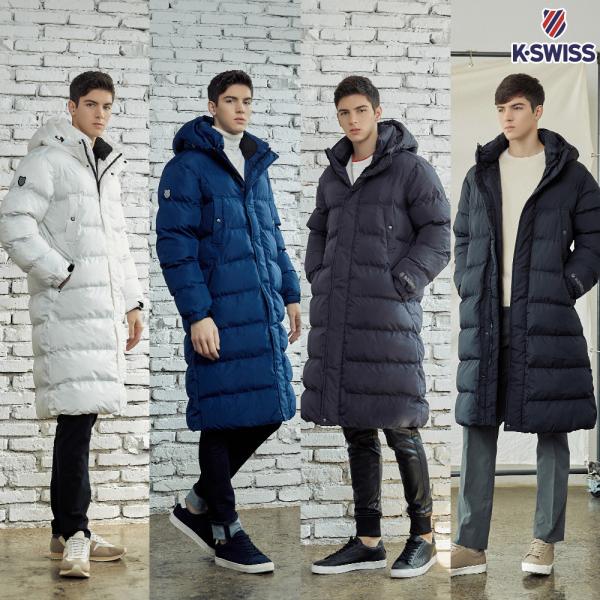케이스위스 남성 웜웝 윈터 롱패딩자켓/겨울점퍼