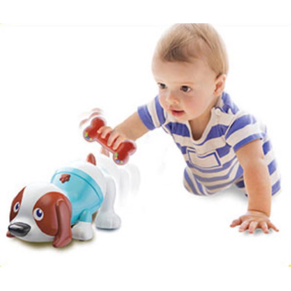 뼈다귀 흔들면 움직이는 강아지 완구 작동동물인형 생일선물 어린이완구
