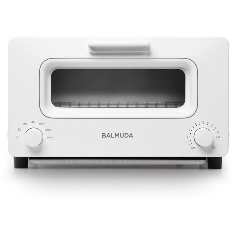 BALMUDA K01E-WS화이트 The Toaster[오븐 토스터(1300W)]K01EWS바루 뮤 다 스팀 기능 전환 모델 토스터, 단일상품