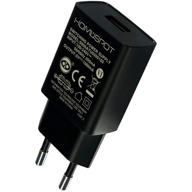 독일직수입 홈 스팟 컴팩트 범용 USB 충전기 / 전원 공급 장치 /5V1A 아이폰에 대 한 EU 플러그 아이 패드 삼성 갤럭시 넥, 단일옵션, 단일옵션