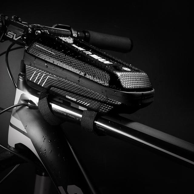 와일드맨 자전거 프레임 가방 생활방수