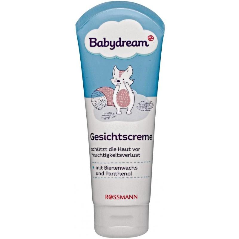 [독일] 베이비드림 페이스 크림 100ml는 밀랍과 판테놀로 수분 손실로부터 피부를 보호합니다., 단일상품