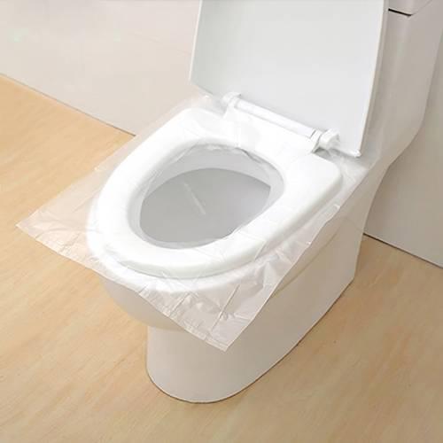 10 개 / 갑 휴대용 일회용 화장실 패드 방수 PE 화장실 쿠션 여행 Accesssor, 상세내용참조
