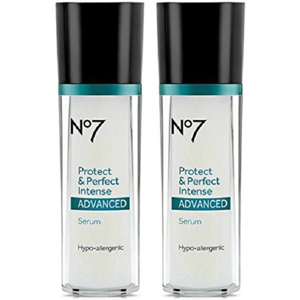 Boots No7 Protect & Perfect Intense Advanced Serum 프로텍트 앤 퍼팩트 인텐스 어드반스드 세럼 1oz(28g) 2팩, 1개