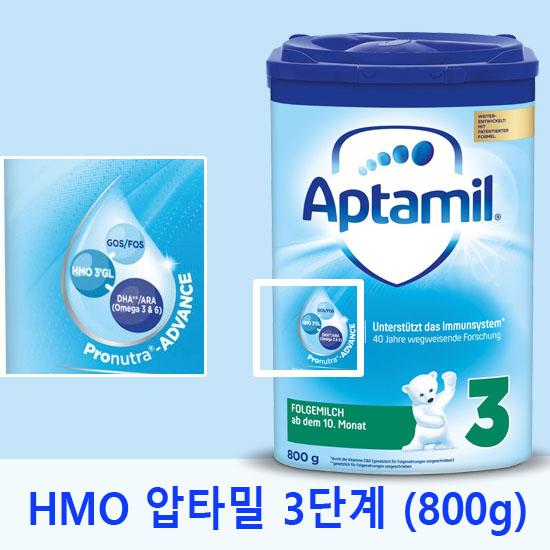 압타밀 HMO 프로누트라 어드밴스 3단계 (800g) 분유, 4통, 800g
