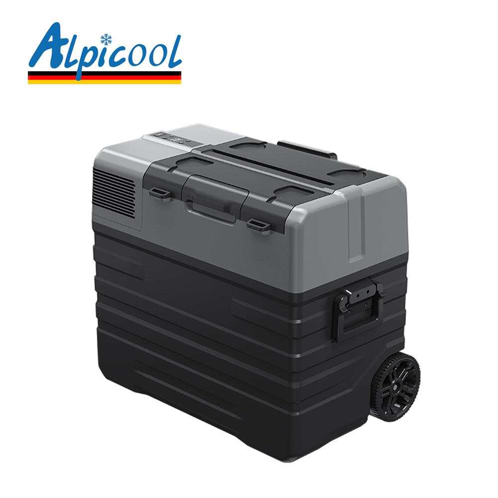 ALPICOOL 가정용 차량용 캠핑 냉동고 52L (독일콤퓨), 단품