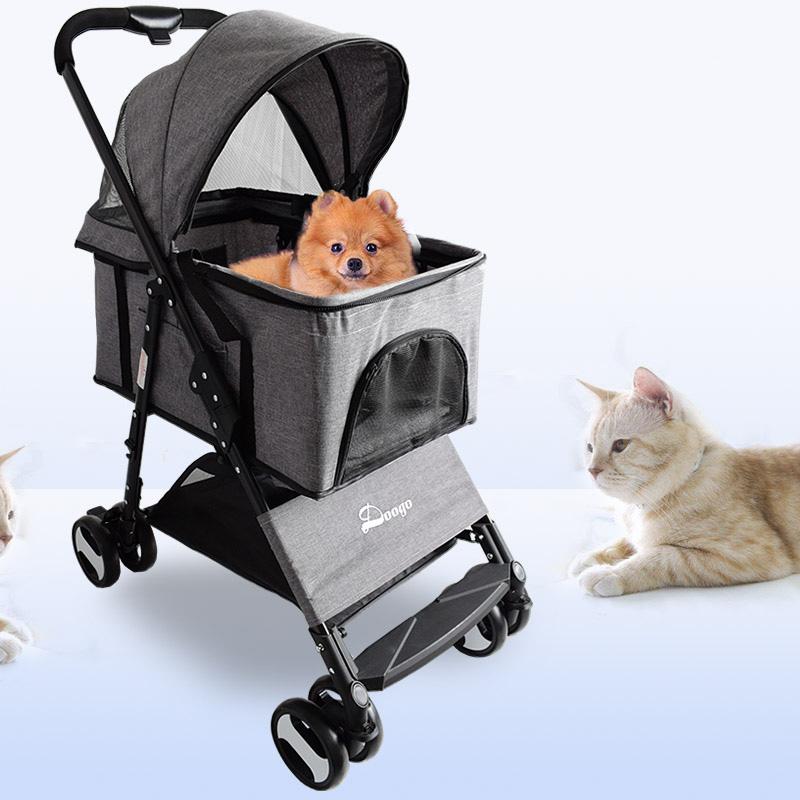 폴라도레 4륜 애견 유모차 펫 고양이 강아지 개모차 +폴라도레사은품증정