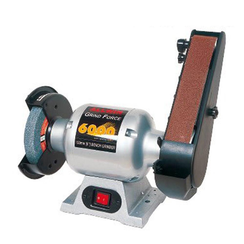 올윈 탁상그라인더 벨트샌더 AGF6000B 6인치 목공전용 (POP 265420630)
