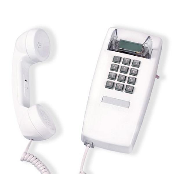 [핫트랙스] 원더스토어 [코텔코] Made in USA 코텔코 빈티지 벽걸이 유선전화기 화이트, 모델명/품번