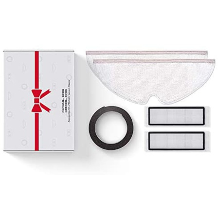 Roborock Accessories Set Magnetic Tape Washable Filter and Mopping Cloth for E Serires S6 MaxV, One Color_One Size, 상세 설명 참조0, 상세 설명 참조0