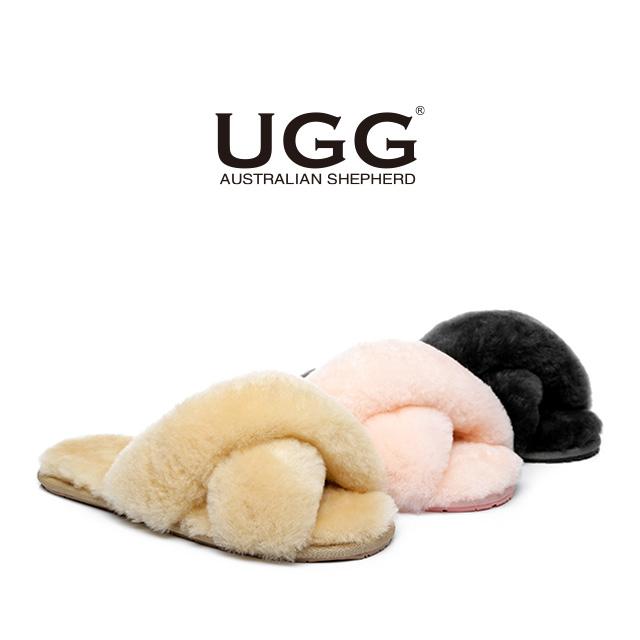 린티 양털 어그 슬리퍼 UGG 3컬러 AS AS2012