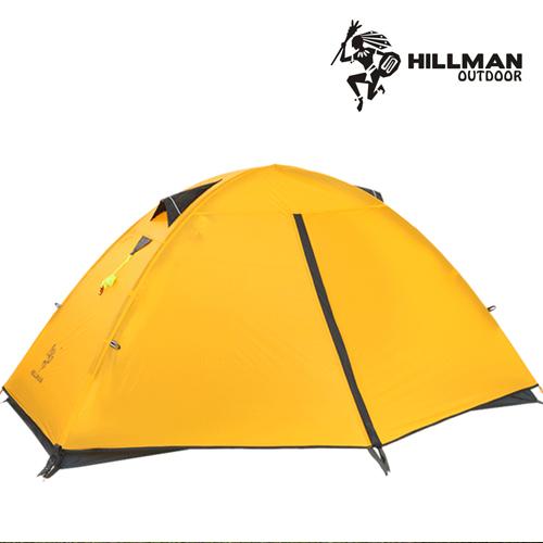 힐맨 윈드1 텐트 1인용 그라운드시트 포함, 옐로우