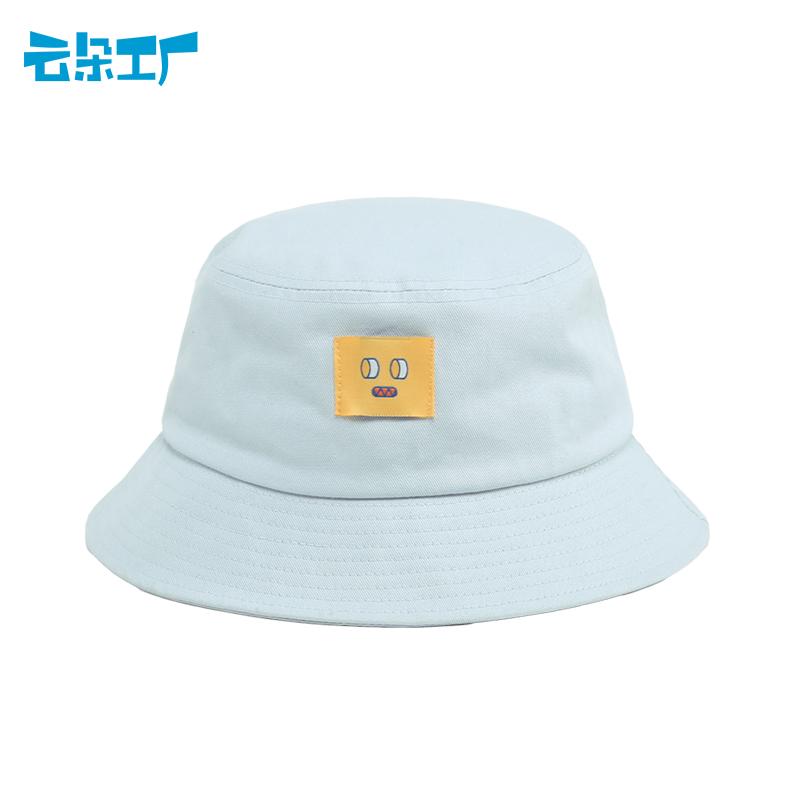 Cloud 팩토리 남녀공용 심플 버킷햇 캐주얼 데일리 벙거지 모자