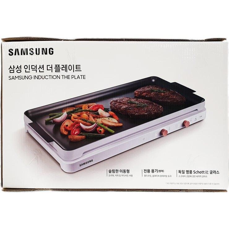 삼성 인덕션 더플레이트 블랙 화이트 NZ60R3703PK, 단일상품
