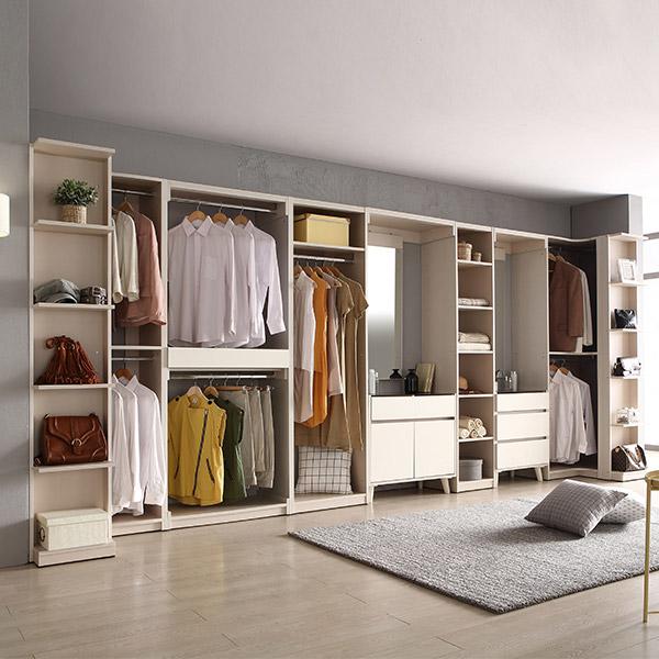 레이디가구 취향저격! 이안 드레스룸 옷장 싱글장 시리즈, 08. 800 2단옷장
