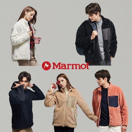 마모트 플리스점퍼+후드집업세트