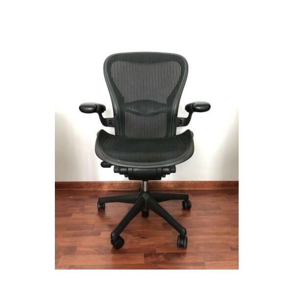 Herman Miller Aeron Office Chair - Graphite Size C (Large)
