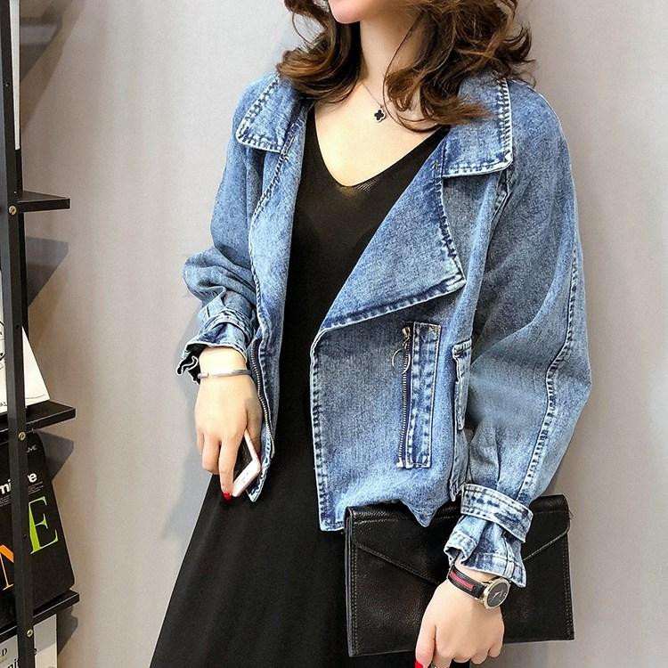 예쁜 청자켓 루즈핏 여성 데님 재킷 201호+ 덧신 증정 kirahosi CBidx0wx