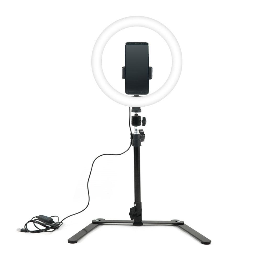 HKC15622 Coms LED 링 라이트 개인방송용 원형 램프, 1, 본 상품 선택