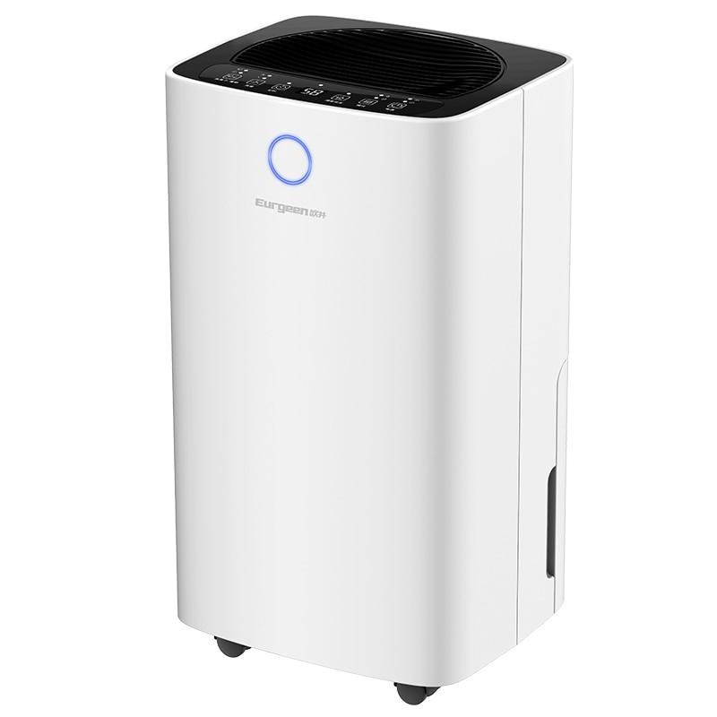 12L D 제습기 공기 청정기 가정용 침실 소형 음소거 음이온 에너지 절약, 하얀, 미국 플러그 (POP 5621353226)