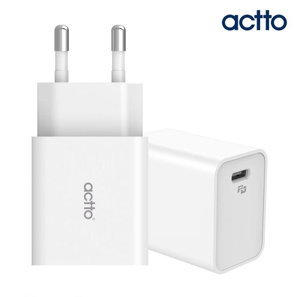 엑토 MTA-26 30W USB PD C타입 고속 급속 핸드폰 충전기.태블릿PC.노트북