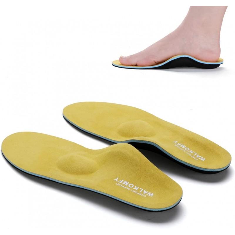 독일직배송 사이즈문의O 풋탑이 있는 Walkomfy 정형외과 깔창 플랫푸를 위한 의료 기능 삽입 신발 발바닥 파지염 발 뒤꿈