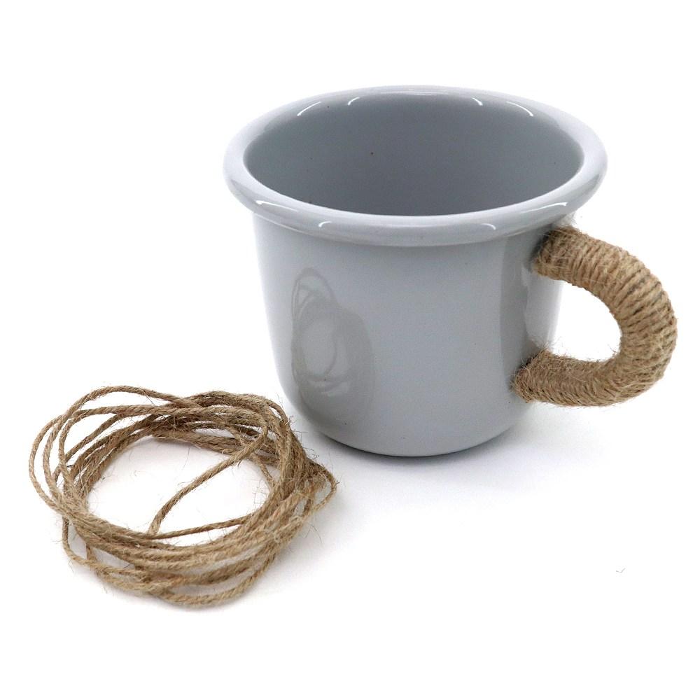 이케아 법랑컵 법랑머그 법랑잔 캠핑 낚시 등산, 에겐돔, 1개