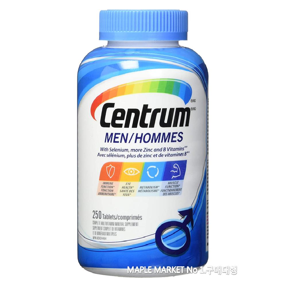 센트룸 포맨 포우먼 종합비타민 250정, 1개, 포맨/남자/250정