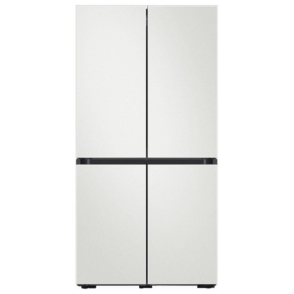 삼성전자 비스포크 냉장고 RF61T91C301 (RF61T91C3AP) 키친핏 코타 화이트, 단일모델