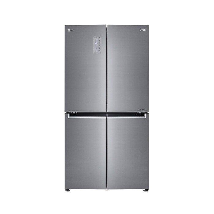 [신세계TV쇼핑][LG] 디오스 양문형 냉장고 870L F871S11E, 단일상품