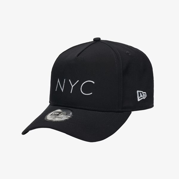 [갤러리아] 뉴에라[뉴에라] K프레임 매트 폴리 NYC 자수 볼캡 블랙, SM