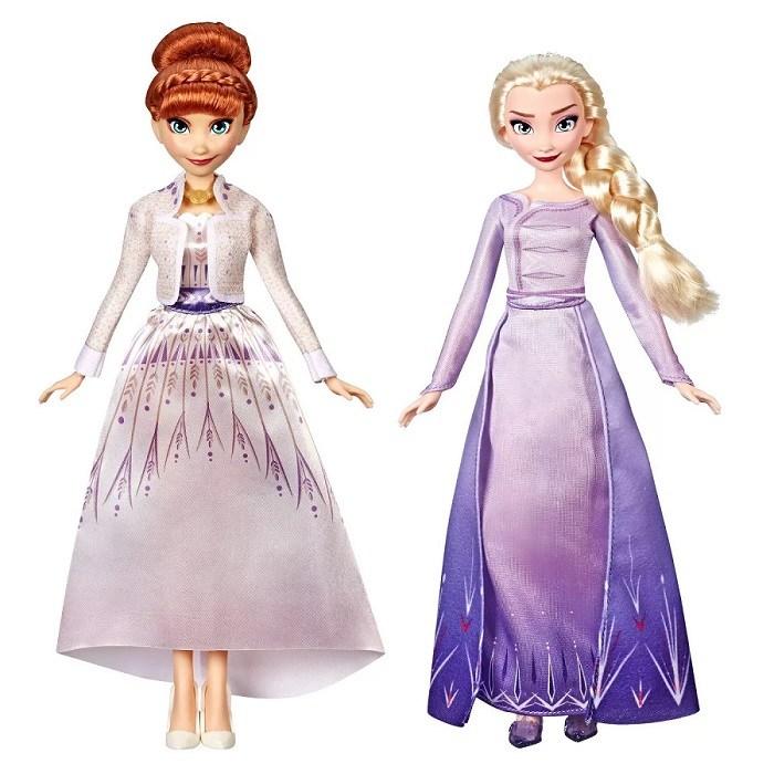 디즈니 겨울왕국2 엘사와안나 인형세트 마론인형