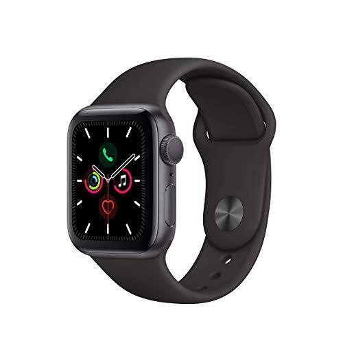 애플 워치 Series 5 (GPS 40MM) - 스페이스 그레이 알루미늄 케이스 블랙 ?, 상세내용참조, 상세내용참조
