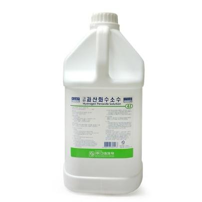 그린제약 과산화수소수 4L 1통 상처소독 과산화수소, 1개