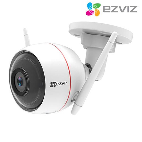 이지비즈 가정용 홈 IP네트워크 CCTV 실외 적외선 카메라 EZVIZ C3W 아기모니터
