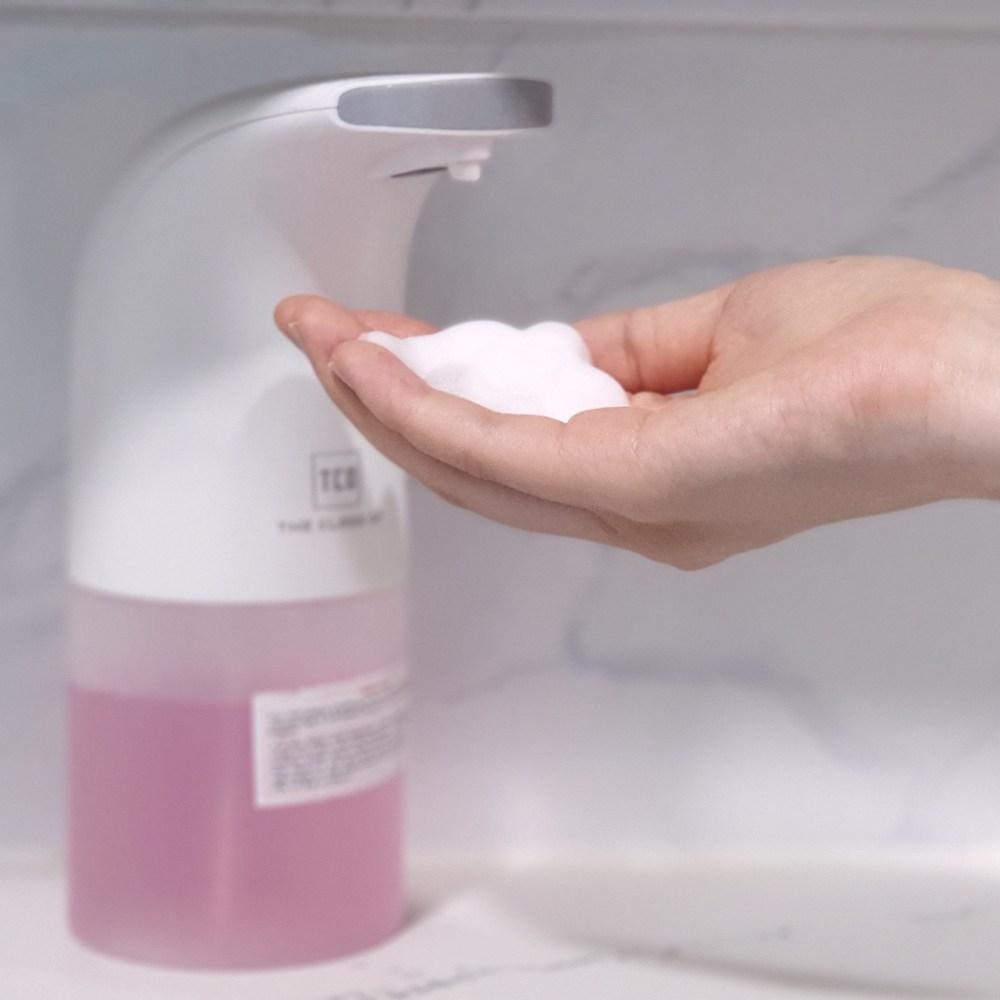 기묘한스토어 자동세제 디스펜서 고급형 욕실 주방 세제 물비누 핸드워시 화장실 자동손세정기